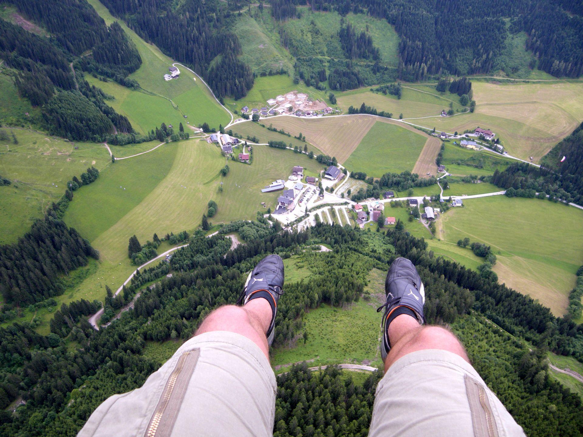 Paragleiten, Werfenweng, Travel Drift