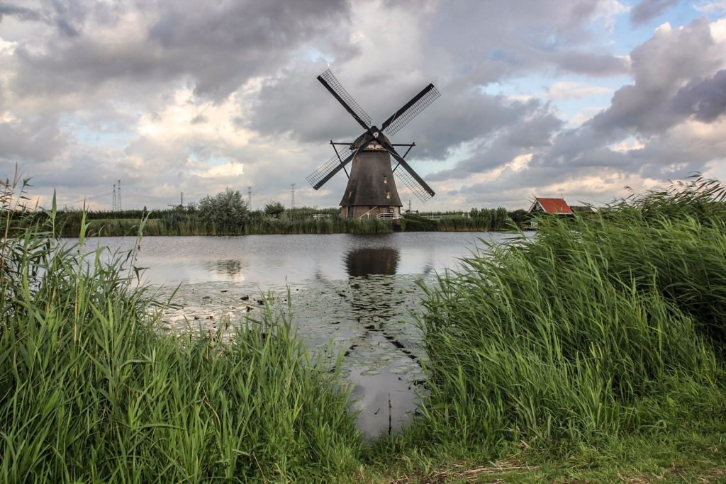 Kinderdijk, Windmills, Travel Drift