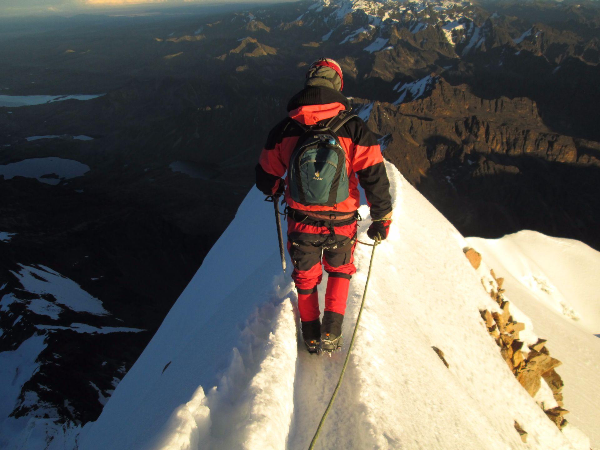 Huayna Potosi (6.088m), Bolivien, Travel Drift