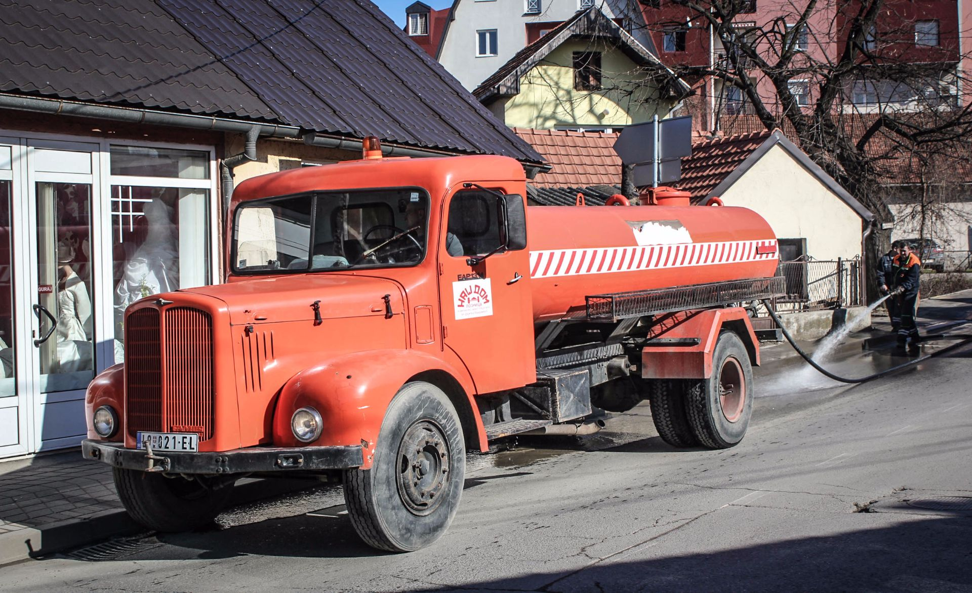 Loznica, Serbien, Travel Drift