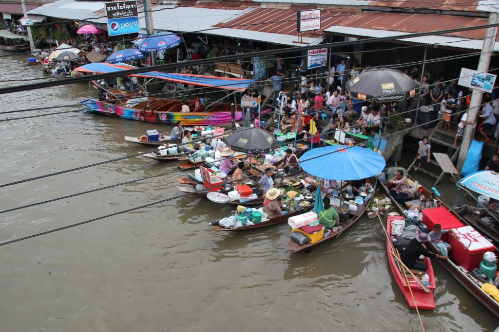 Amphawa Floating Market, Thailand, Asia, Travel Drift