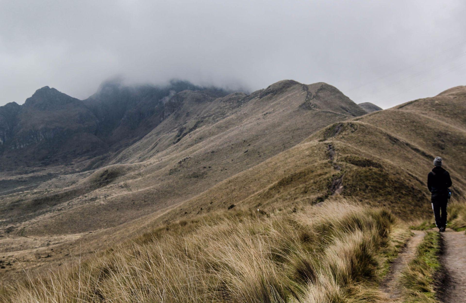 Pichincha Vulkan, Quito, Ecuador, Travel Drift