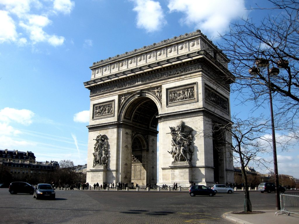 arc de triomphe, paris, france, Travel Drift