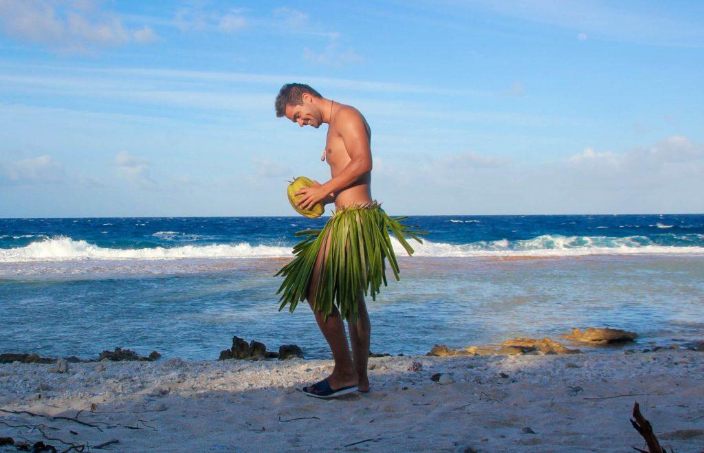 Einsame Insel. Abenteuer. Fakarava, Französisch-Polynesien, Ozeanien, Travel Drift