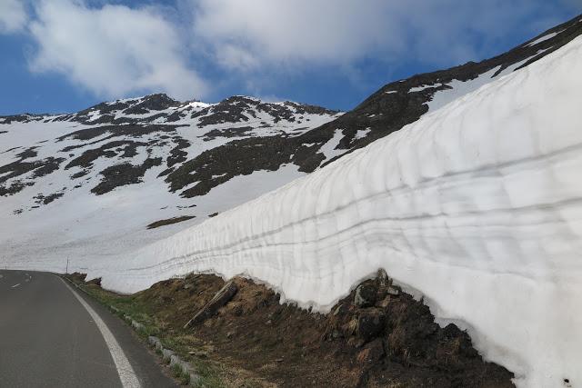 Eiswände, Hochalpenstraße