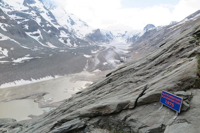 Gletscherstand 1975 und 2015