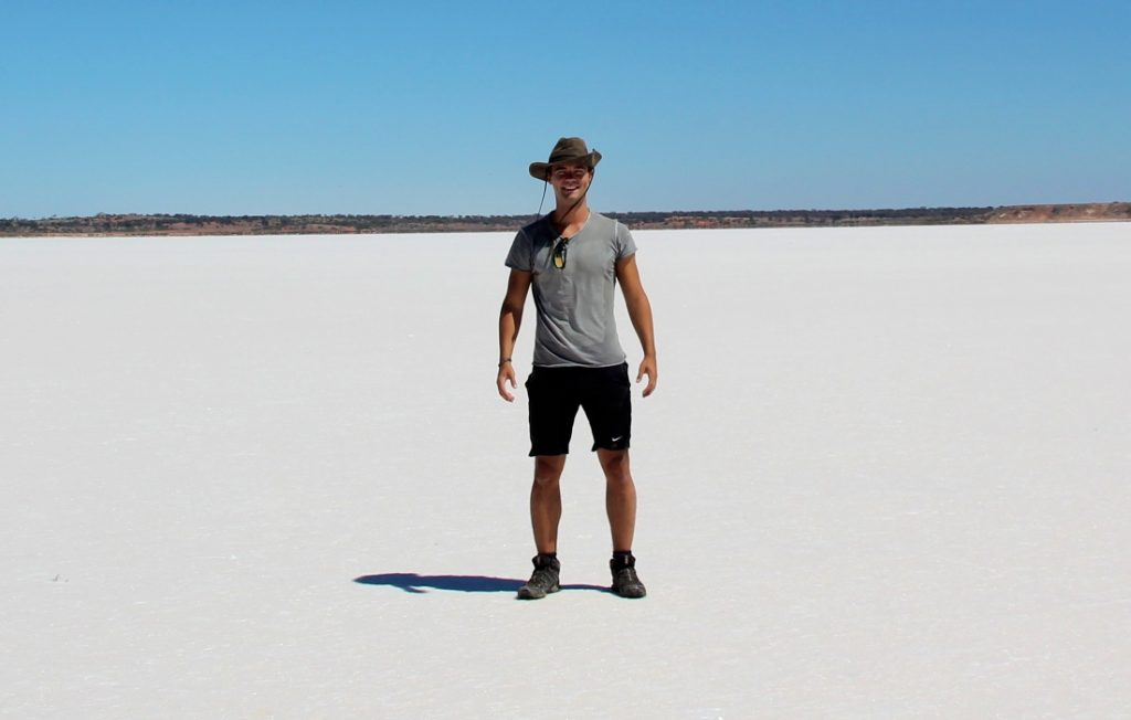 Lake Hart, Salt Lake, australia, Travel Drift