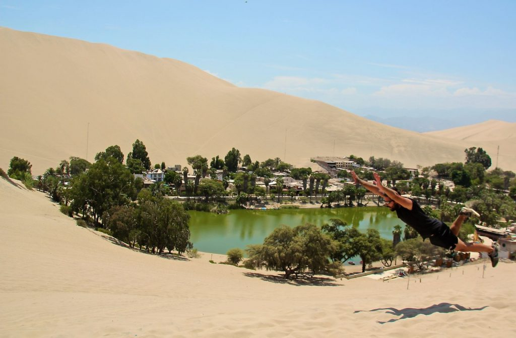 Huacachina, Peru, Travel Drift