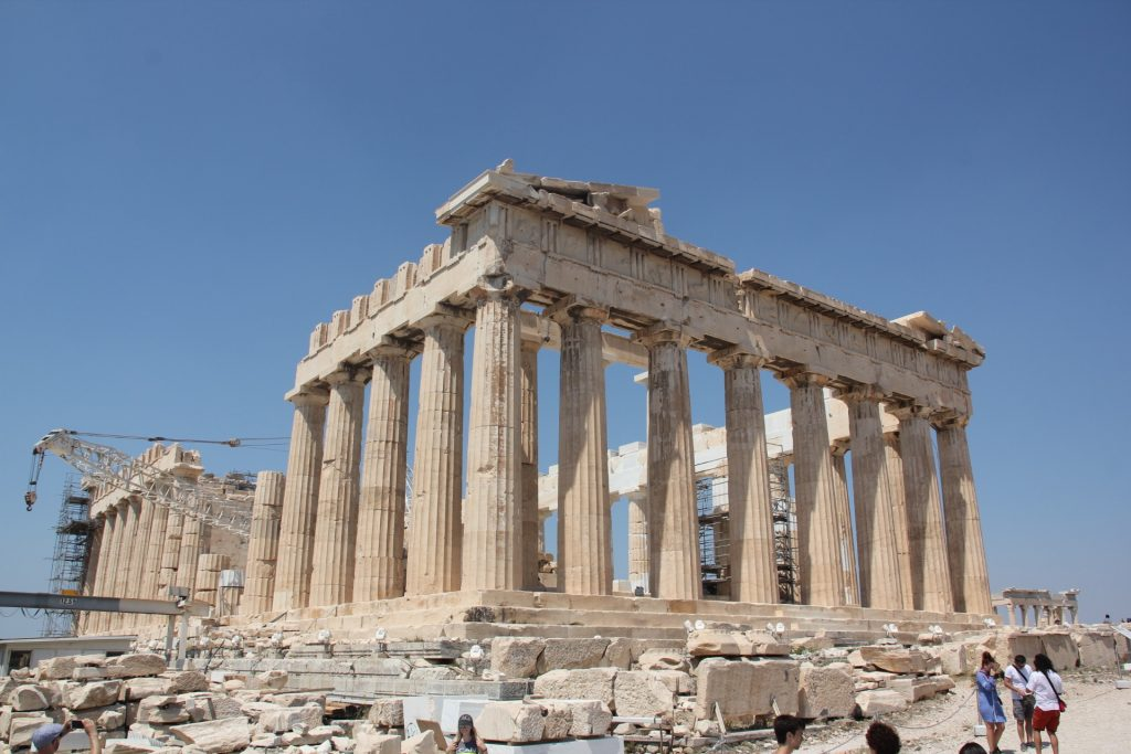 Parthenon Athen, Travel Drift