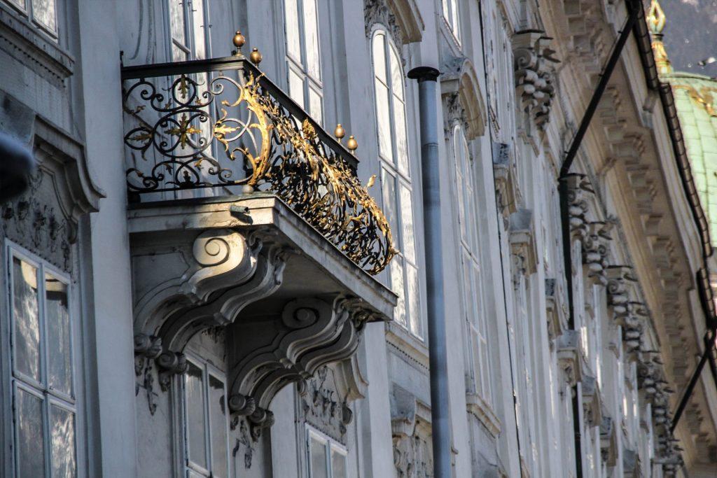 Balkon der Innsbrucker Hofburg