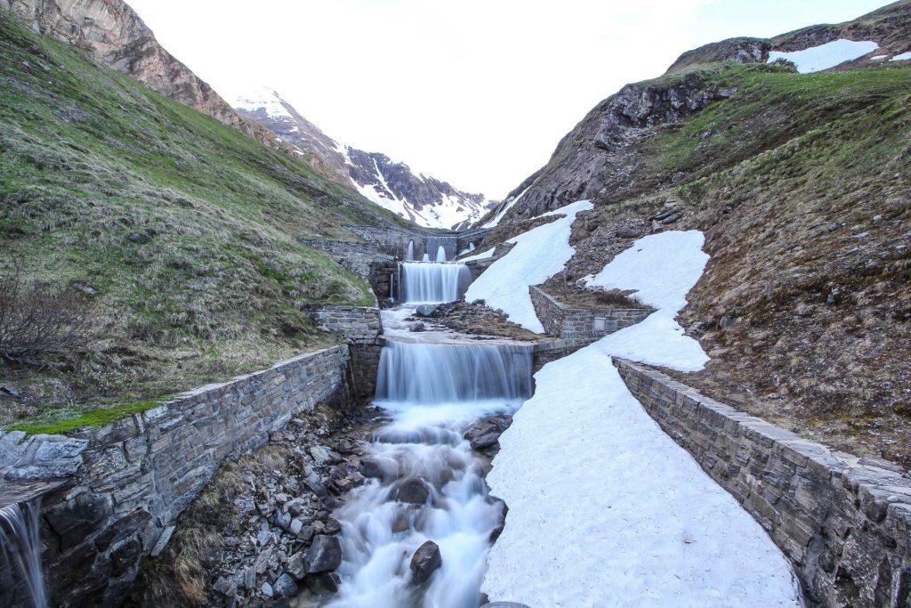 Wasserfälle an der Hochalpenstraße