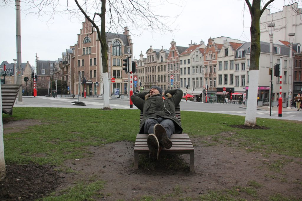 Brüssel, Belgien, Travel Drift