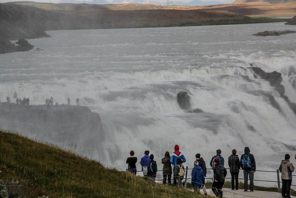 Gullfoss Waterfall, Travel Drift, Iceland