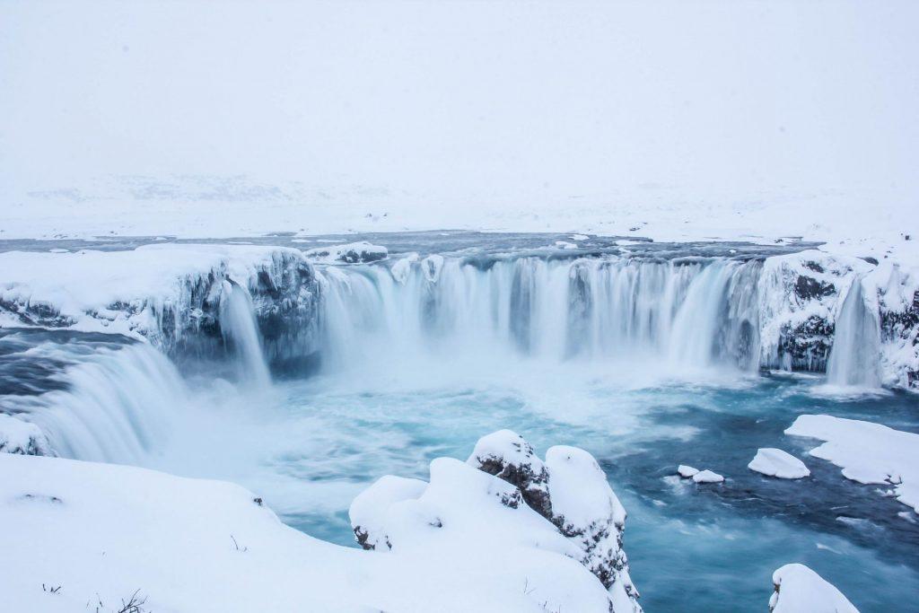 Godafoss Waterfall, Travel Drift, Iceland