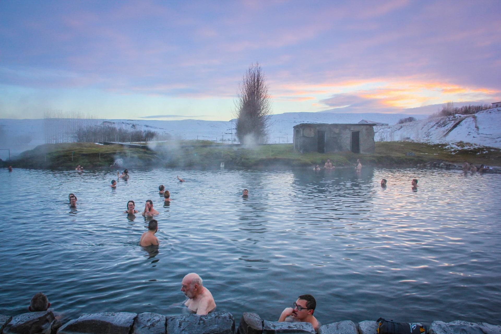 Secret Lagoon, Travel Drift, Iceland
