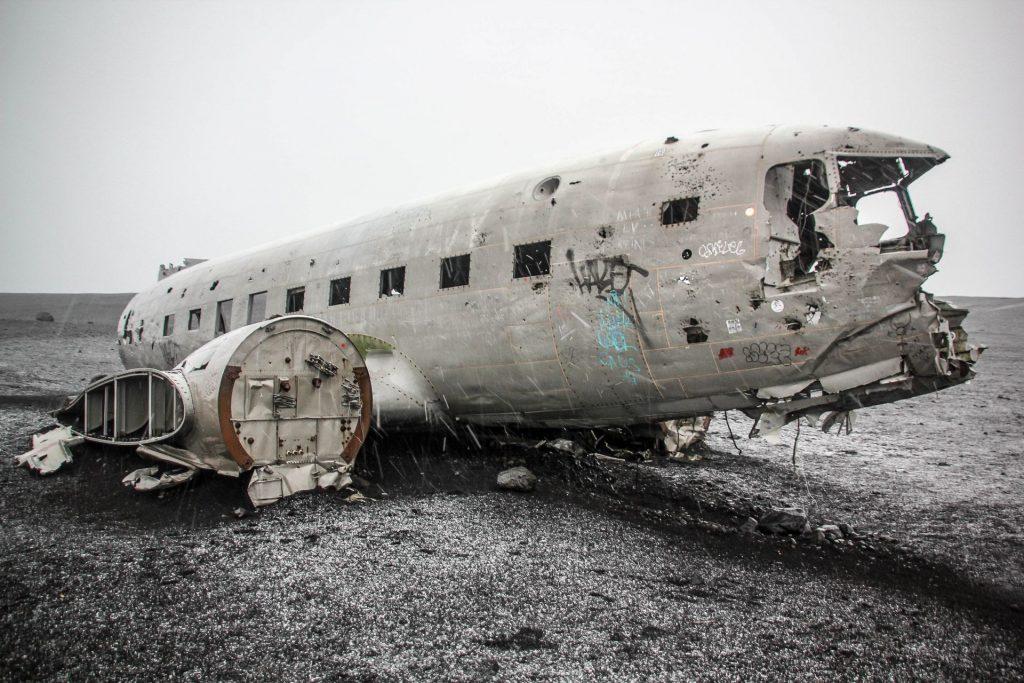 Solheimasandur Plane Wreck, Travel Drift, Iceland