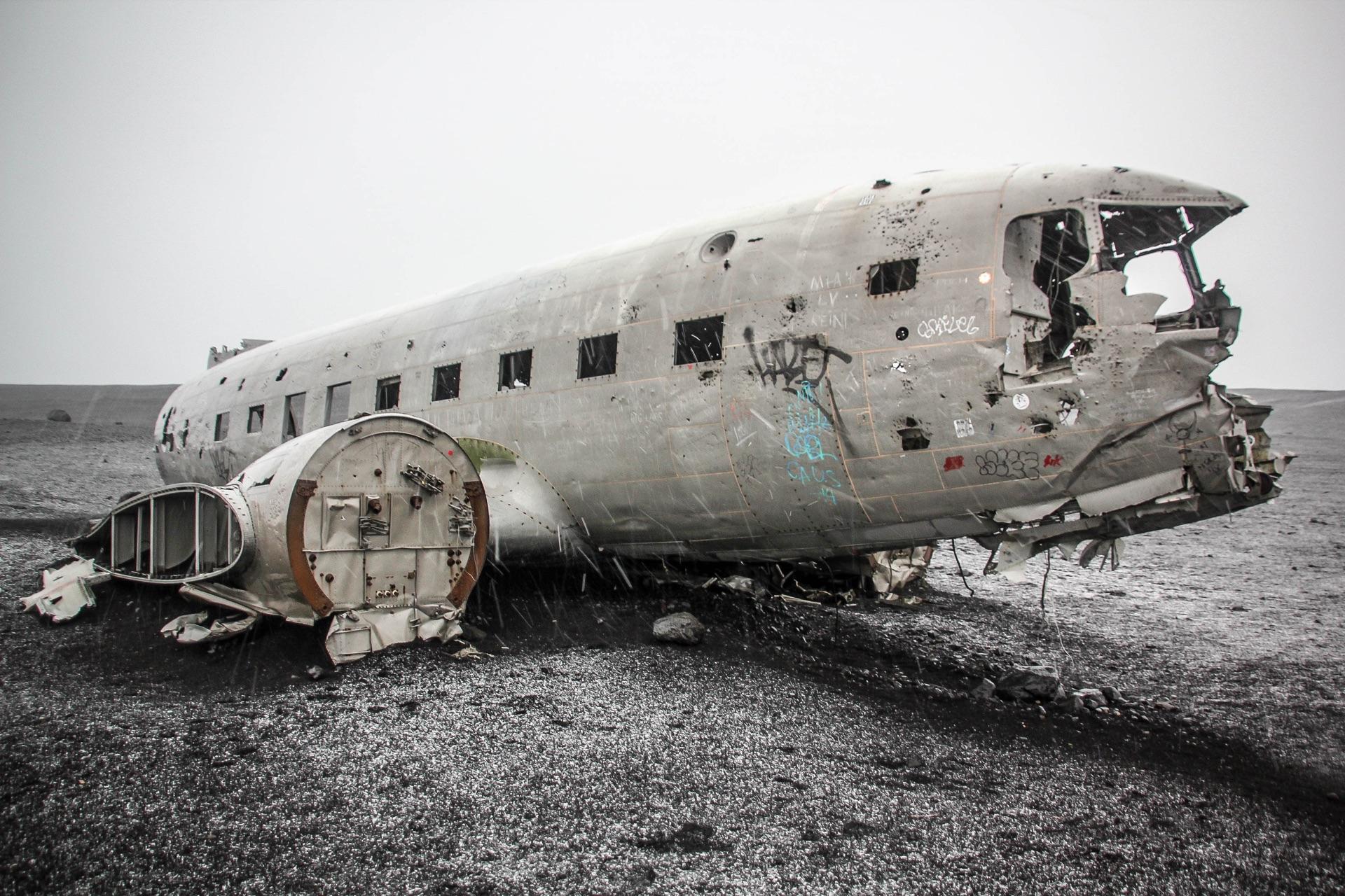 Solheimasandur Wreck, Travel Drift, Iceland