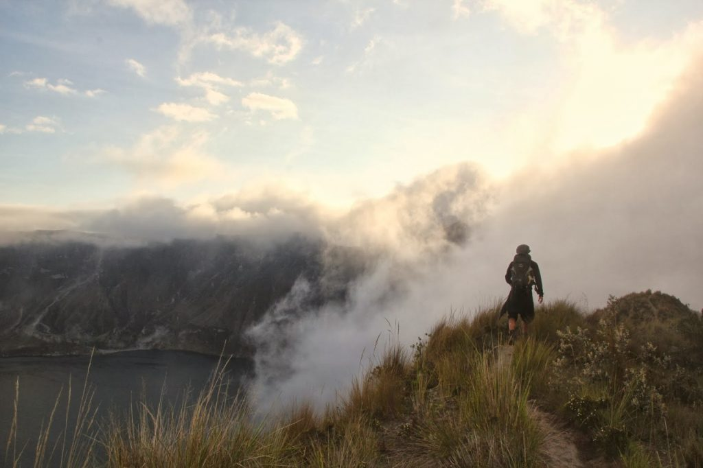Quilotoa Vulkan, Ecuador, Travel Drift