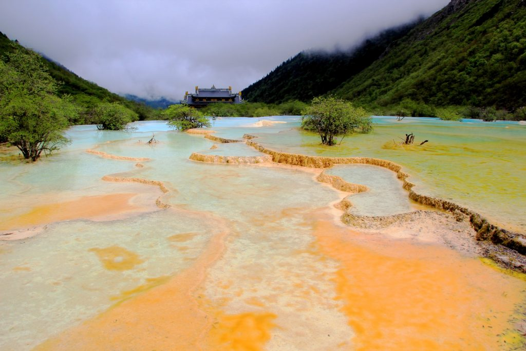 Huanglong Nationalpark, China, Travel Drift