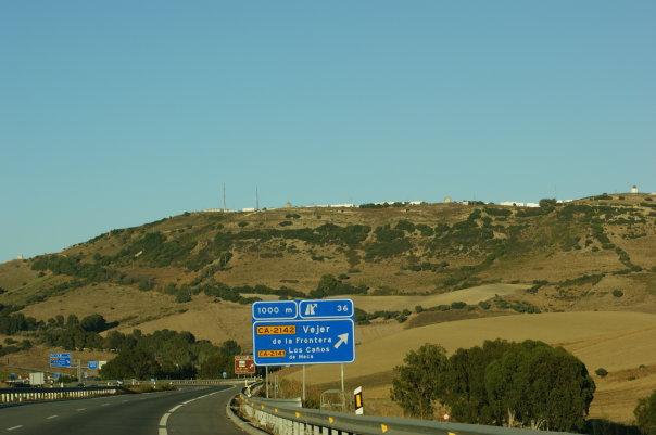 Vejer de la Frontera, Spanien, Travel Drift