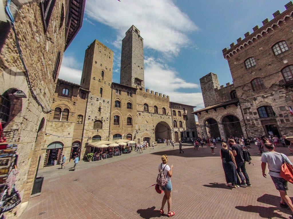 San Gimignano, Italy, Travel Drift