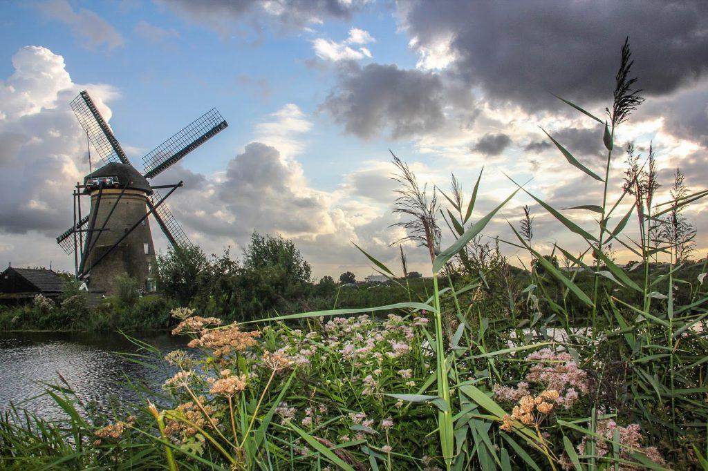 Kinderdijk, Niederlande, Travel Drift