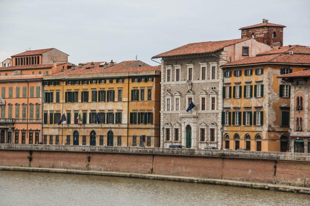 Pisa, Italy, Travel Drift