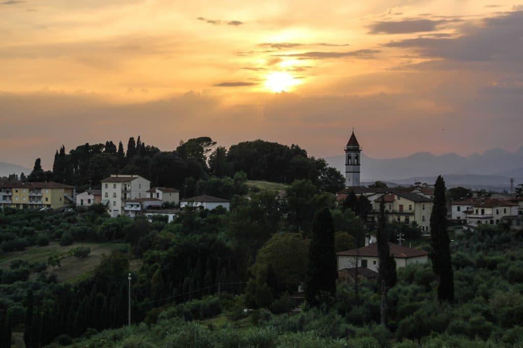 Padule di Fucecchio, Italy, Travel Drift