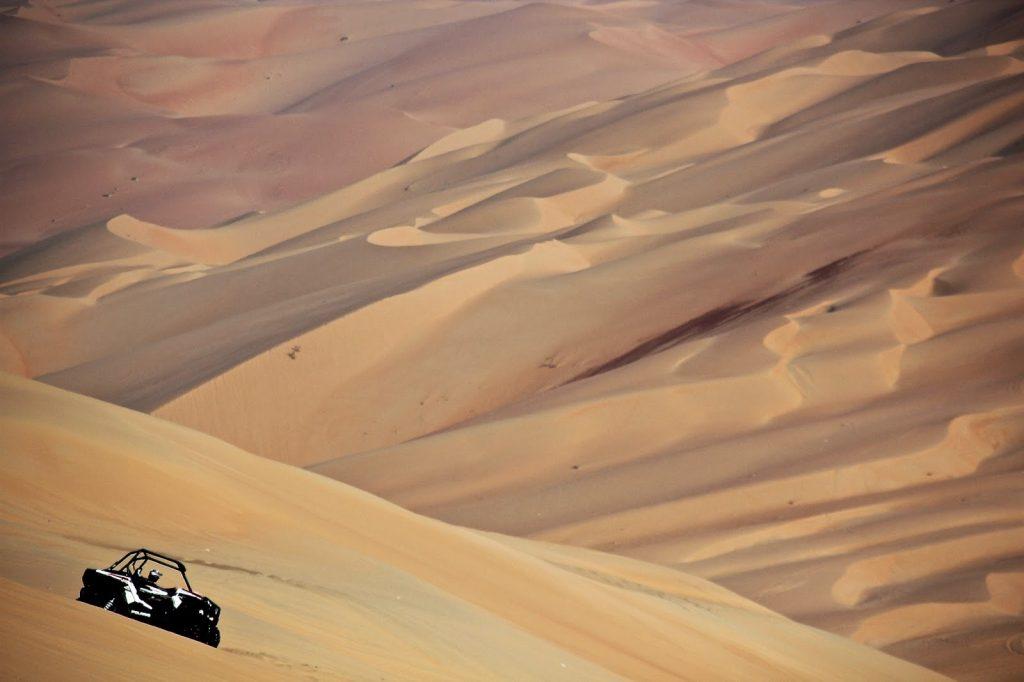 Liwa Oasis, Emirates, Travel Drift