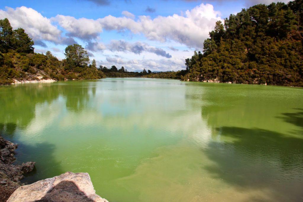 Wai-O-Tapu Thermal Park, New Zealand, Travel Drift