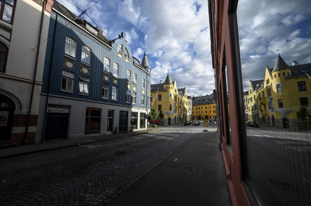 Alesund, Norway, Travel Drift