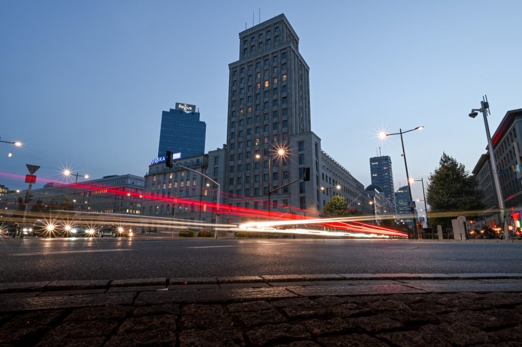 Warschau, Poland, Travel Drift