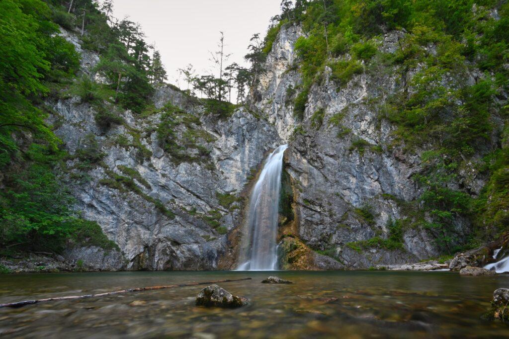 Salza Wasserfall, Austria, Travel Drift