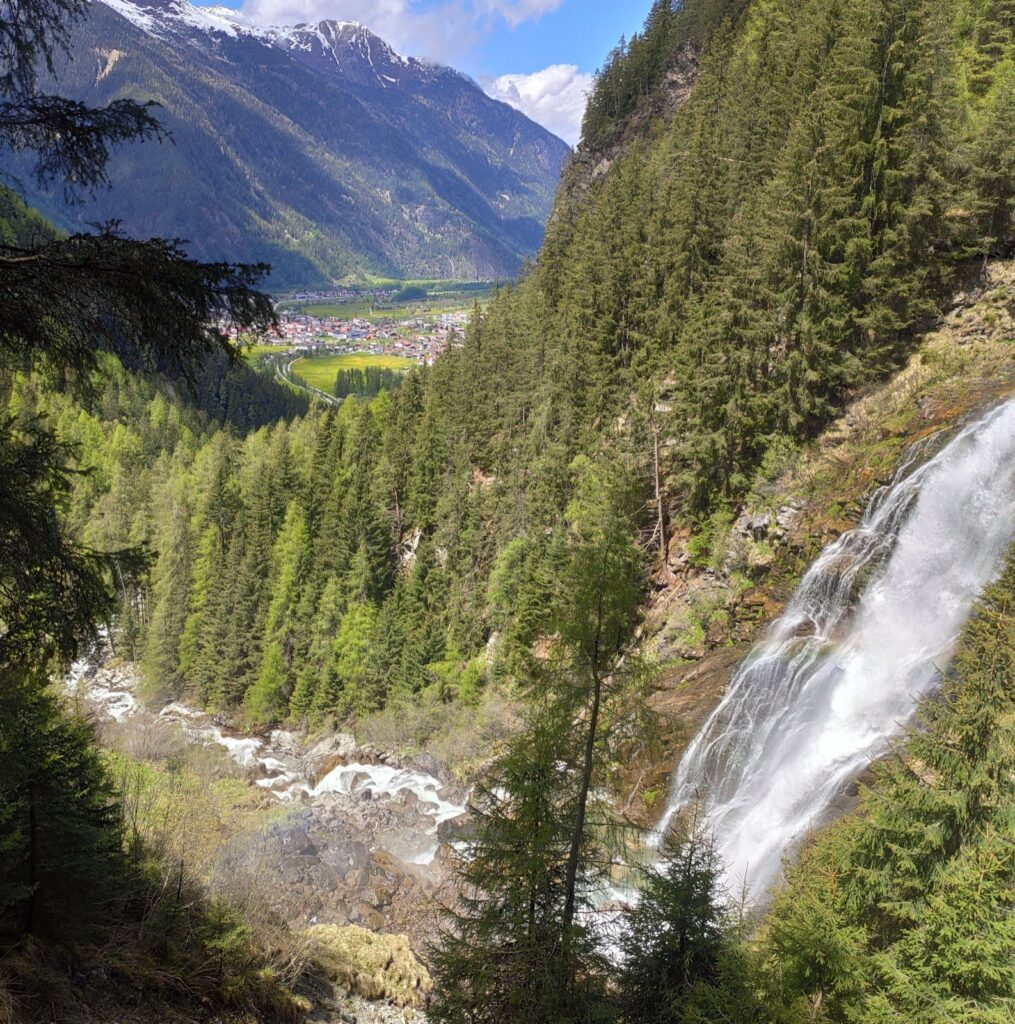 Stuibenfall, Austria, Travel Drift