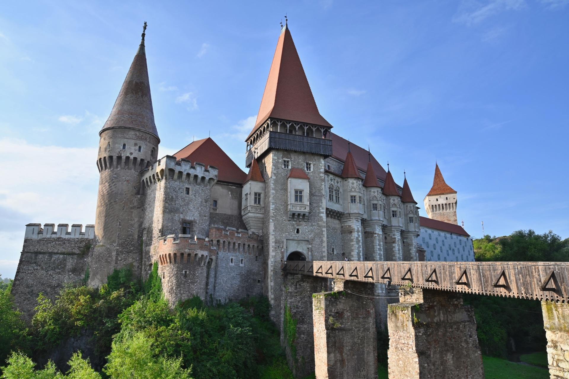 Corvin Castle, Romania, Travel Drift